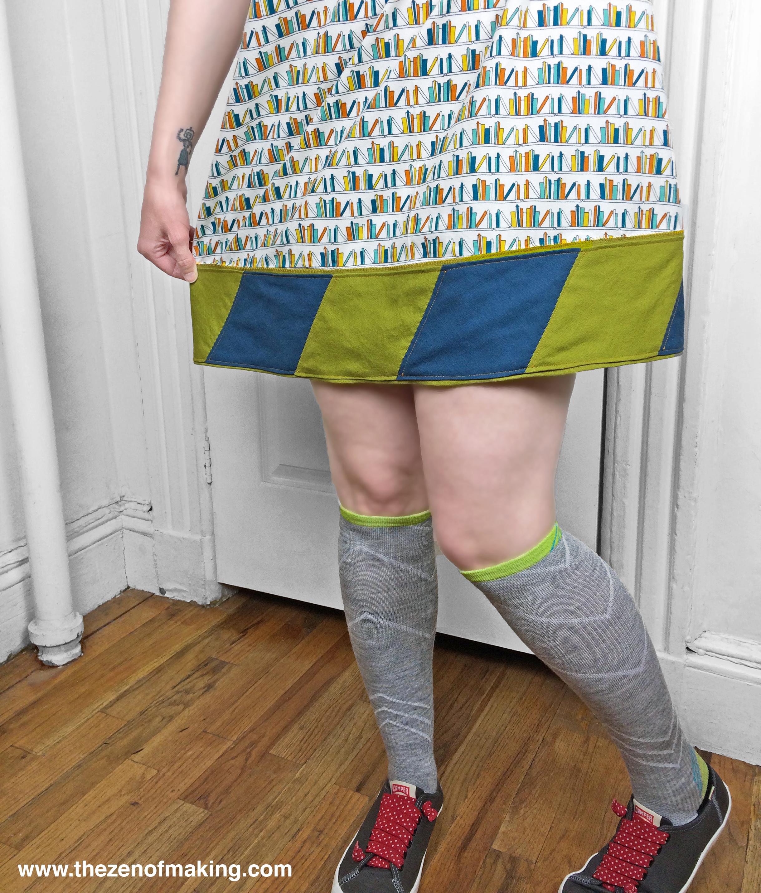 Tutorial: Lengthen a Too-Short Skirt with EPP