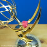 Monday Snapshot: Yes, That's an Emmy Wearing a Pussyhat! | Red-Handled Scissors