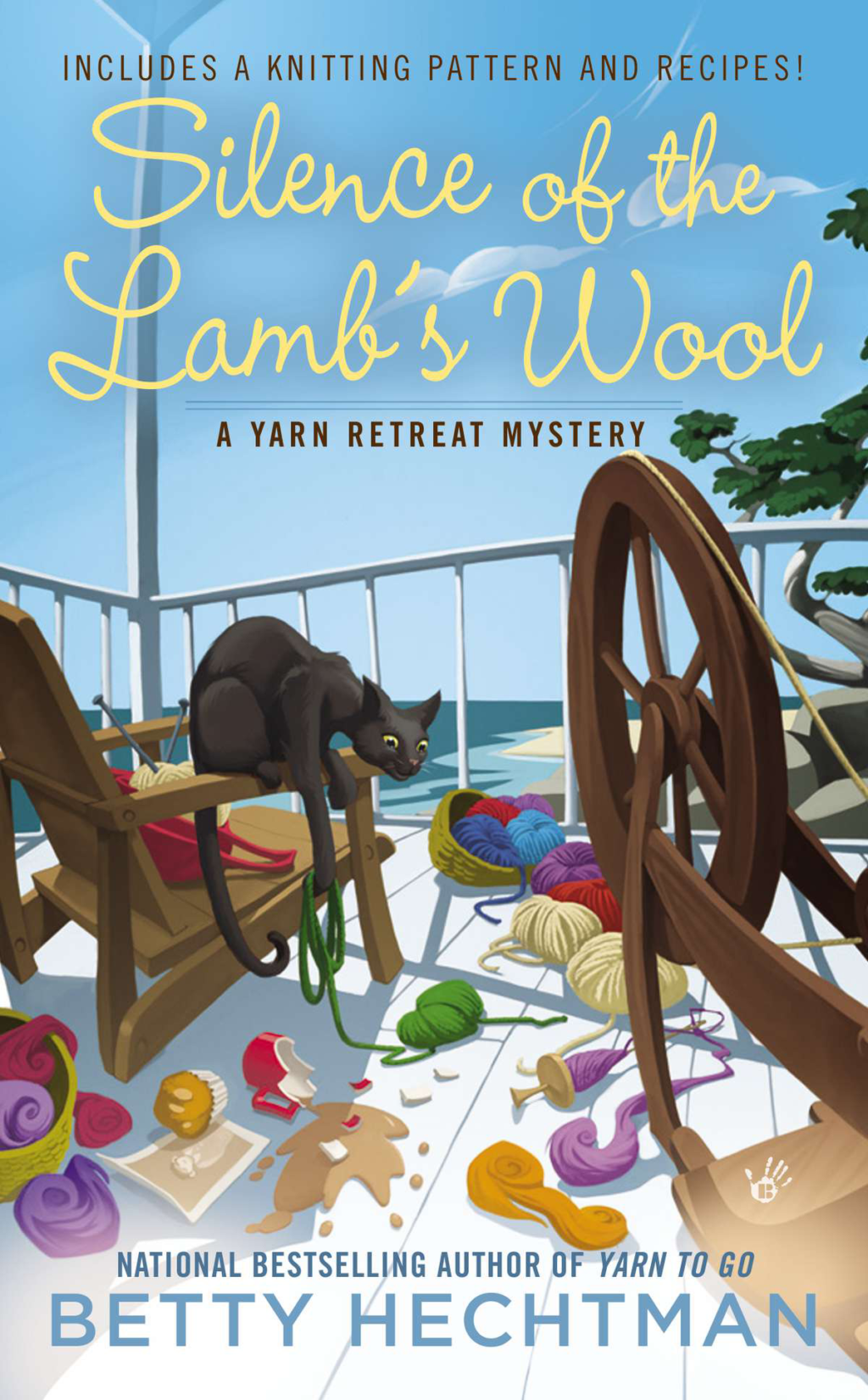 Crafty Audiobook Review: Silence of the Lamb's Wool: A Yarn Retreat Mystery, Book 2