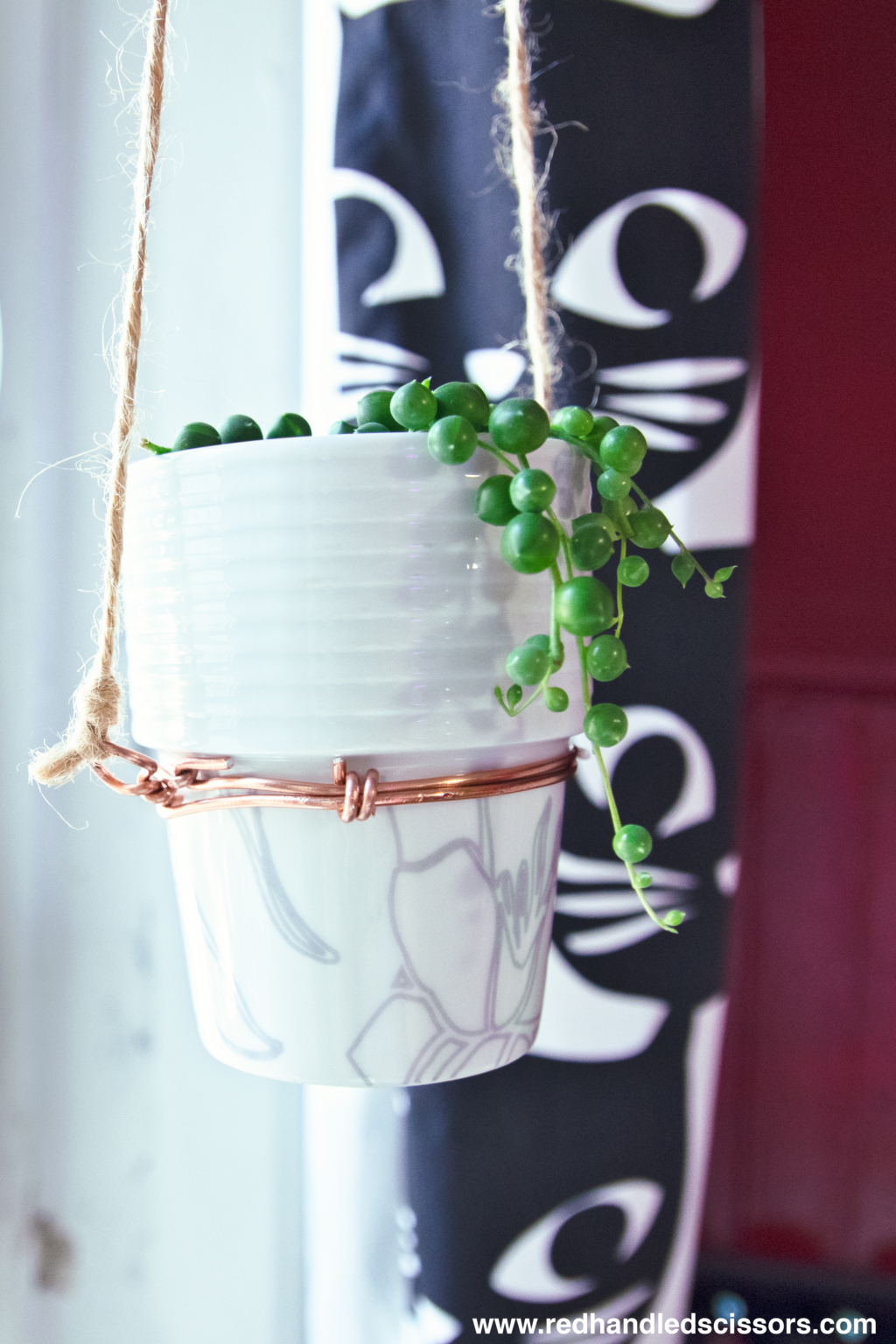 Tutorial: DIY Modern Hanging Planter