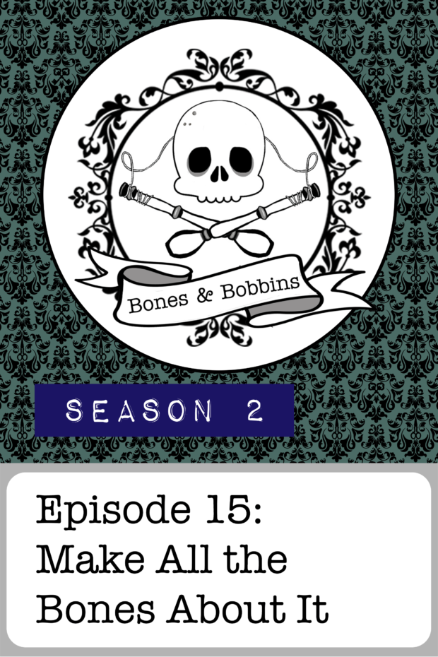New Episode: The Bones & Bobbins Podcast, S02E15: Make All the Bones About It - Skeletons: Catacomb saints and the Sedlec Ossuary.