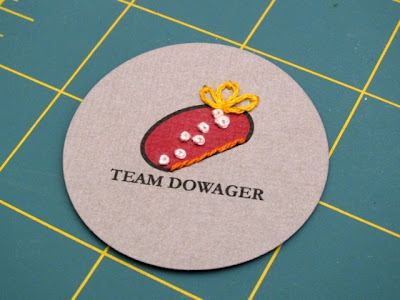 Tutorial: Downton Abbey-Inspired Team Dowager Badge | Red-Handled Scissors