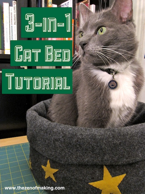 cat bed tutorial