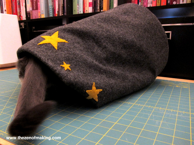 cama de gato tutorial