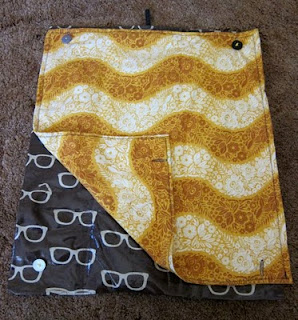 Super-Secret Sewing Project Revealed: Portable Baby Changing Pad | The Zen of Making